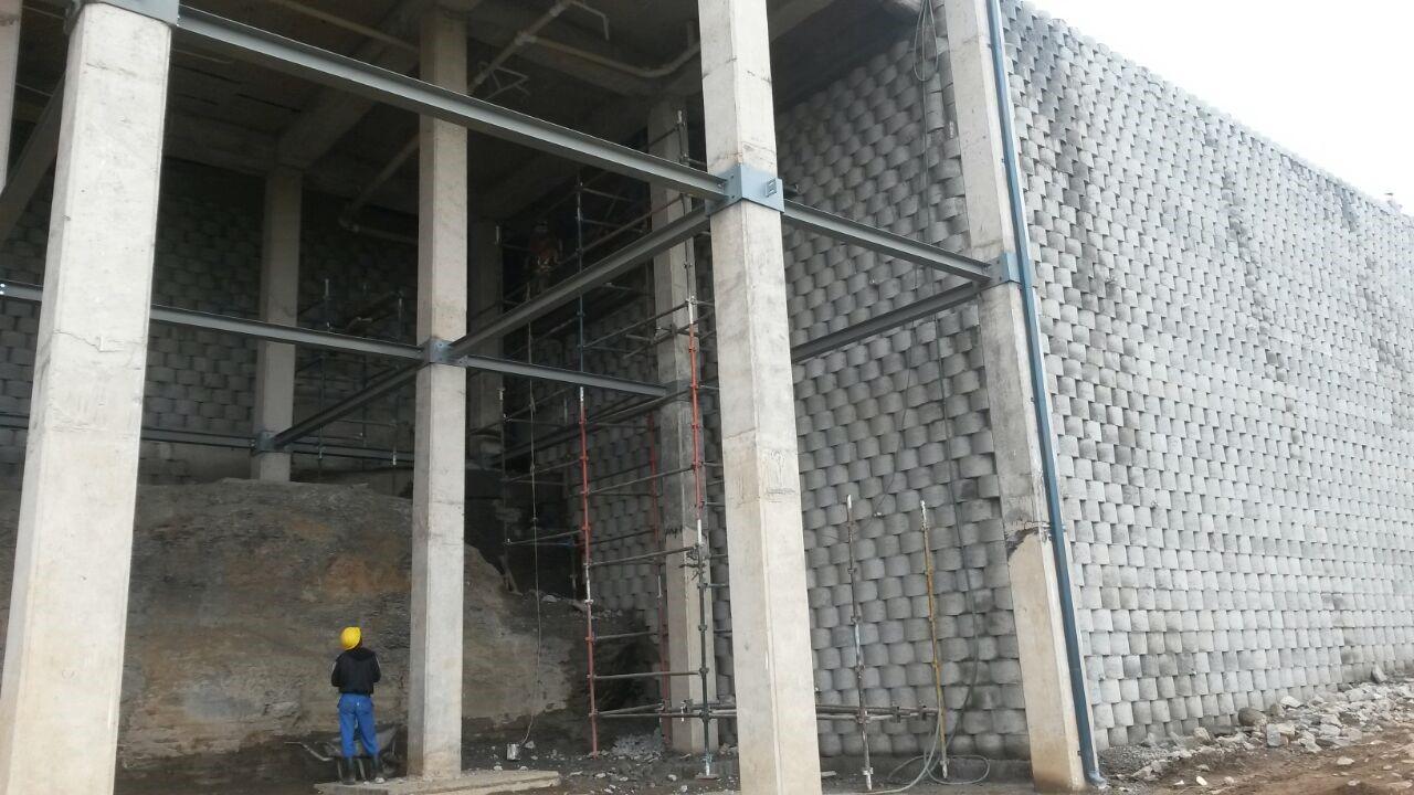 Sasol Mthatha retaining structure